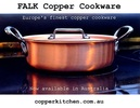 FALK Copper Cookware, Europe's Finest, Buy Online in Australia